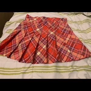 American Apparel Plaid Short Skirt Size Small